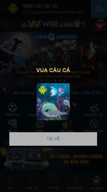 app game bắn cá online w88